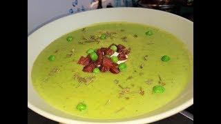 Вкусный гороховый суп  пюре!!! Быстро и полезно!!!