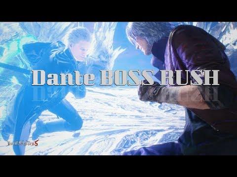 Devil May Cry Series - Dante BOSS RUSH -