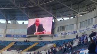Поздравления с Рождением сына, семья Дзюбинских. На стадионе Черноморец