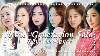 Girls' Generation SNSD - Solo Random Dance (Easy)