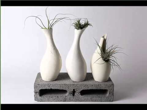Contemporary Ceramic Vases Ideas Picture Set Of Ceramic Art Model