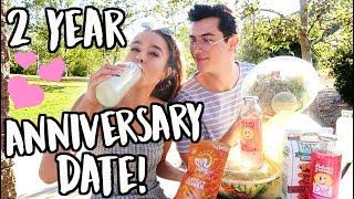 CUTE 2 YEAR ANNIVERSARY PICNIC DATE!