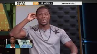 Kevin Hart Roast Stephan A  Smith & Skip Bayless  ESPN First Take