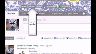 Orkut invisible profile song