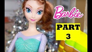Disney Frozen Elsa Evil Twin Part 3 Play-doh Princess Anna Melsa Barbie Parody Lps Frozen Glam