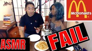 McDonald Sweet N Spicy Honey BBQ Glazed Tenders ASMR Fail