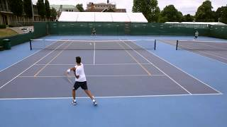 Krishan Taneja - Tennis Smart US Tennis College recruiting Video Fall 2018