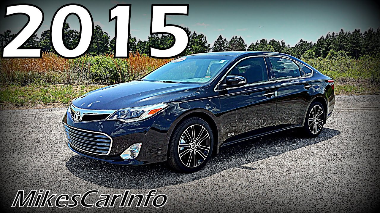 2015 Toyota Avalon Touring Sport XLE - YouTube