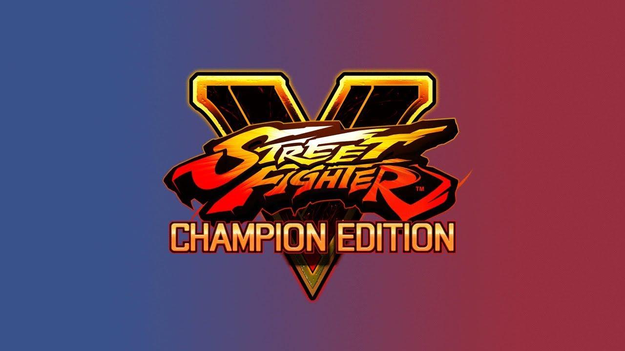 street fighter v champion edition logo png