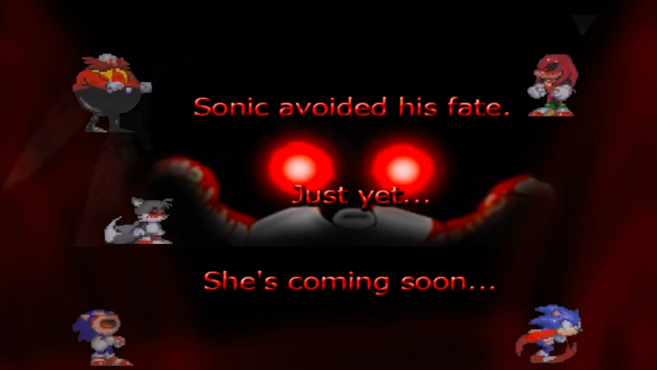 Sonic exe 'Nightmare Version' Finale!!! GOOD ENDING!!!