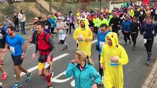 Marathon du Beaujolais : le départ du semi à Villefranche