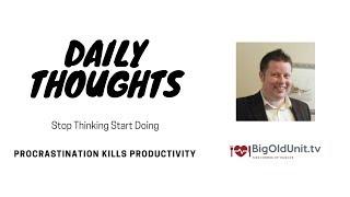 Stop Overthinking And Start Living Again - Vlog O1