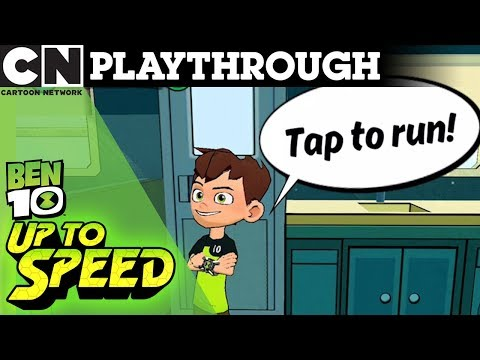 Ben 10 | Ben 10 Up To Speed App Playthrough  | Cartoon Network UK