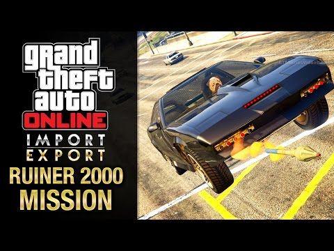 GTA Online Import/Export - Special Vehicle Work #8 - Ruiner 2000 (Arms Embargo)