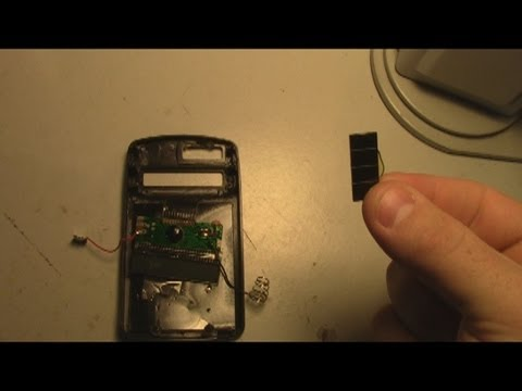 Fake Solar Cell in Calculator