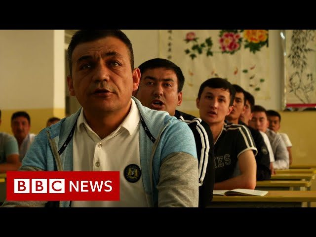 China Uighurs: Detained for beards, veils and internet browsing  - BBC News
