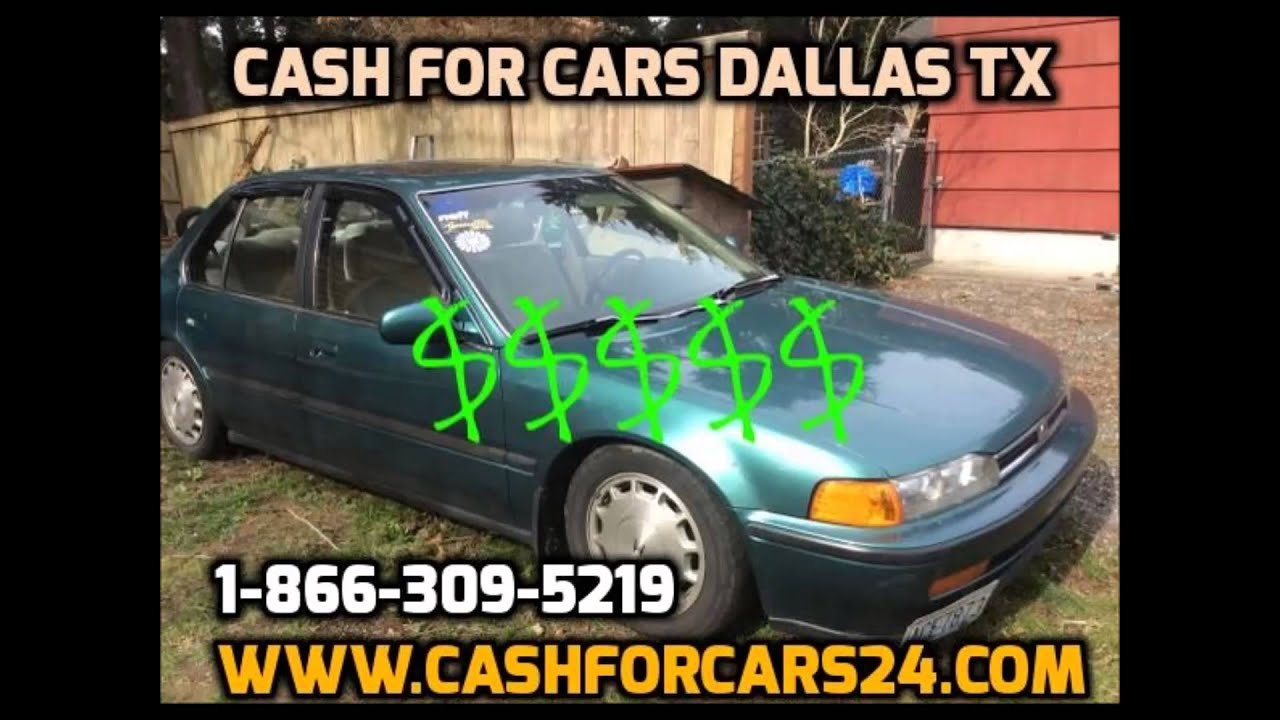 Cash for Cars Dallas TX We Buy Cars Dallas TX Sell My Car Dallas ...