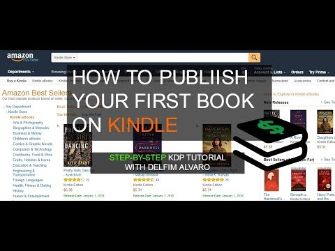 Kindle Publishing Tutorial: How To Publish Your 1st Book on KDP- Step-By-Step!