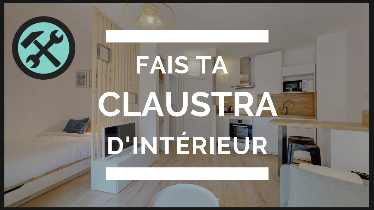 Comment Faire Une Claustra En Bois Youtube
