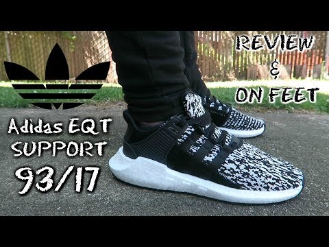 Adidas EQT Support 93/17 - Core Black/White