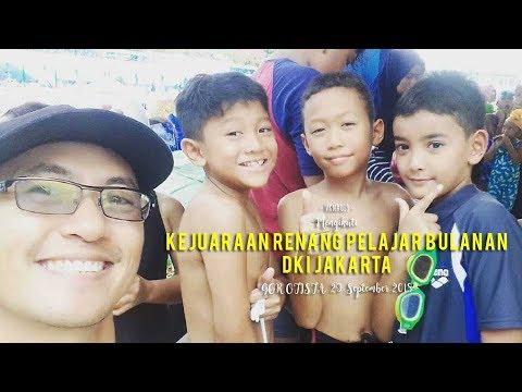 VKN019 - Mengikuti Kejuaraan Renang Pelajar Bulanan DKI Jakarta Di GOR Otista, 29 September 2018