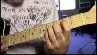 Jailbreak Thin Lizzy guitar lesson