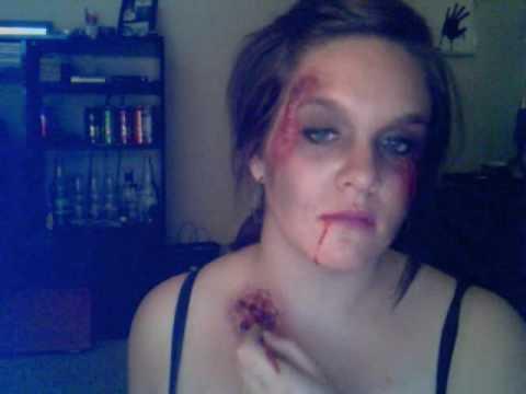 how to make fake woundszombiehalloween - Halloween Fake Wounds