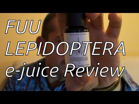 The Fuu - LEPIDOPTERA - French e-juice Review - Curiosités line