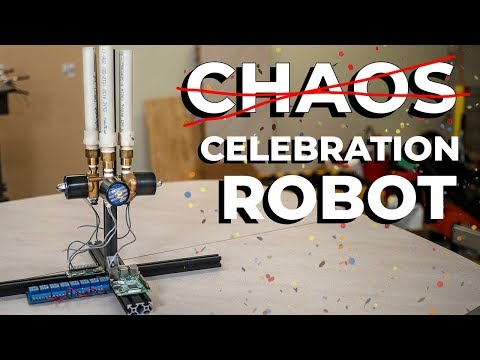 Million Subscriber Celebration Robot