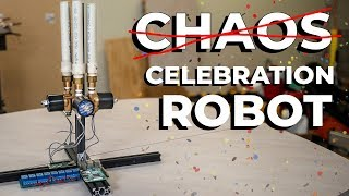 Million Subscriber Celebration Robot
