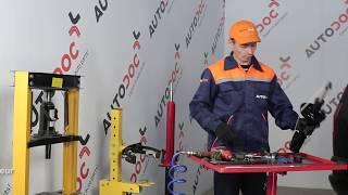 Comment remplacer des amortisseurs avant sur une OPEL ZAFIRA A TUTORIEL | AUTODOC