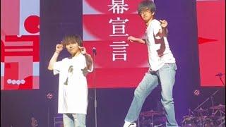 大阪城ホールの舞台に立った無垢の巨人