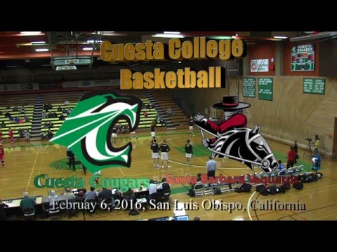 Cuesta Men's Basketball vs. Santa Barbara City College