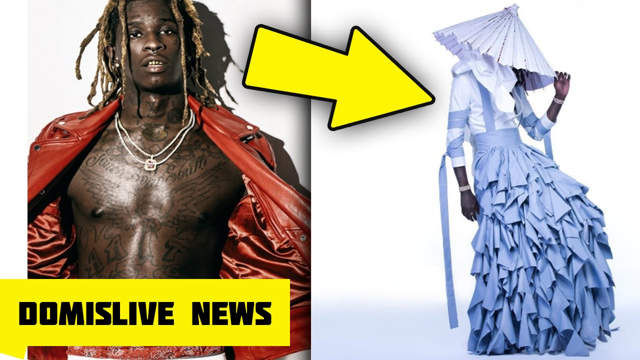Download Young Thug Wears a DRESS for JEFFERY Album (Young Thug aka No, My Name Is Jeffery)