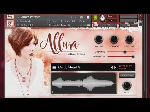 ALLURA - Vocal Sample Library ft. Jillian Aversa (Tutorial)