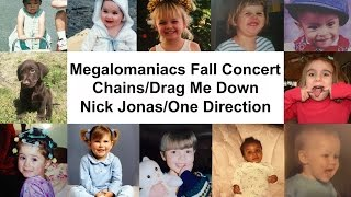 Chains/Drag Me Down - Nick Jonas/One Direction (Megalomaniacs Mashup)