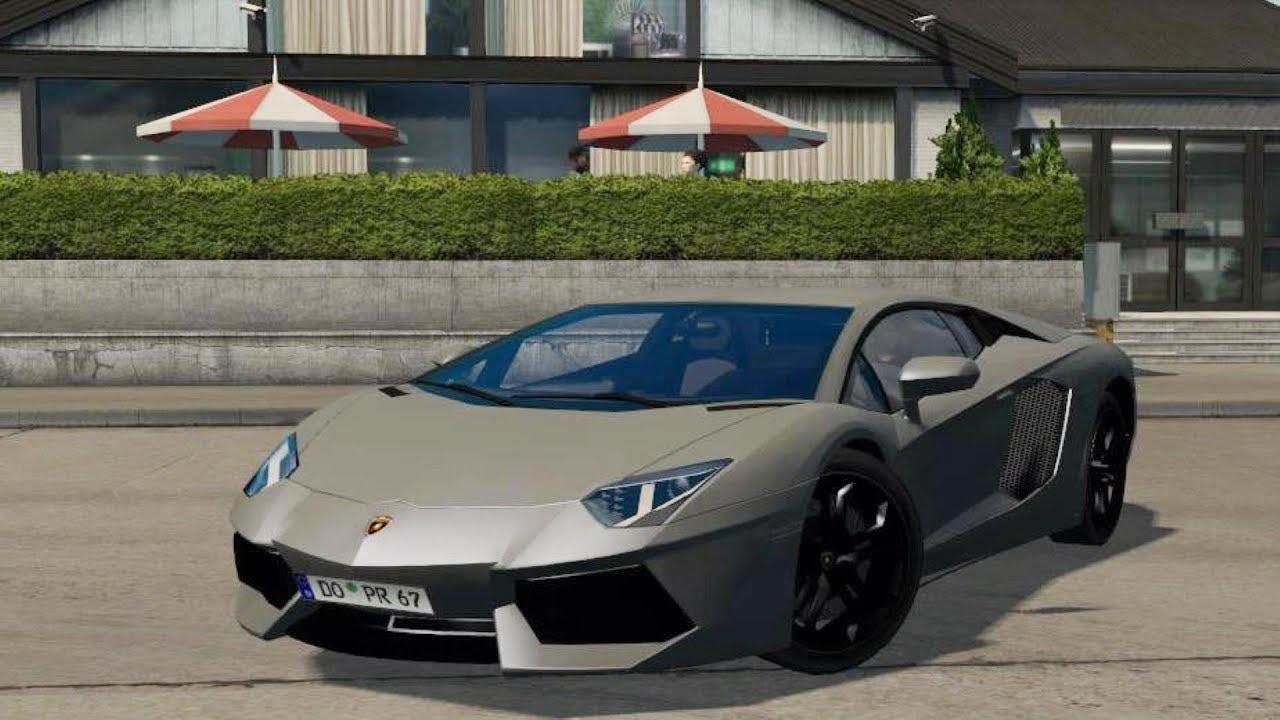 Lamborghini Aventador   ETS 2 mods