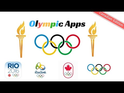 Top 4 Rio 2016 Olympics apps #Canada