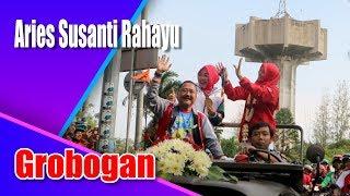 Aries Susanti Rahayu di sambut Ribuan Warga Grobogan