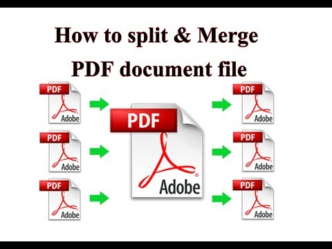 How To Split & Merge A PDF Documents Into Single Or Separate PDF Files Free