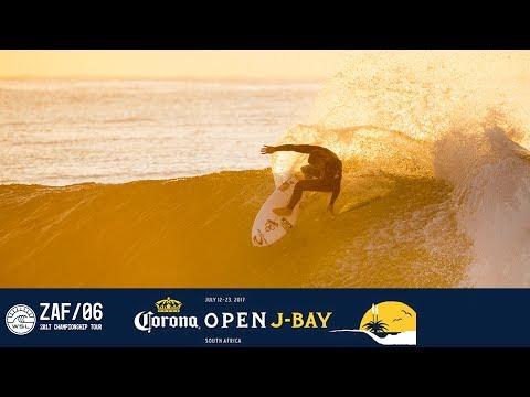 Dawn Patrol: Opening Day of the 2017 Corona Open J-Bay