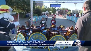 Hero Half marathon serves to benefit the Spark foundation and the Fayetteville firefigthers