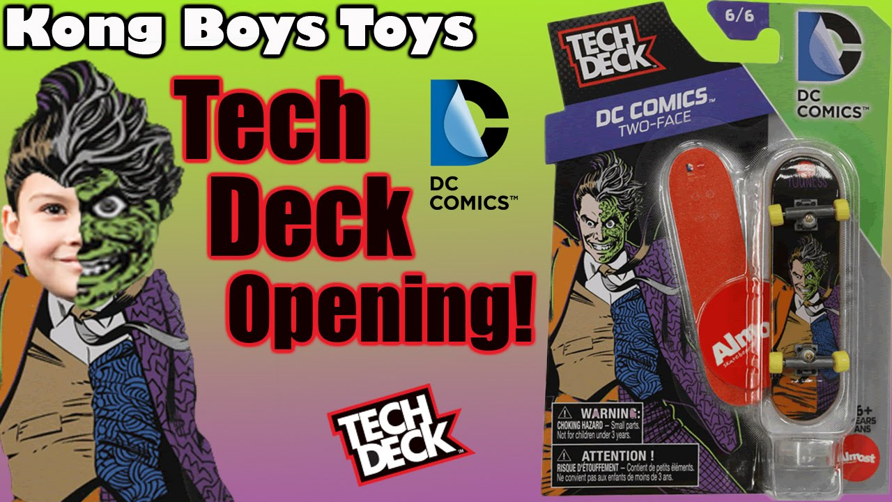 Tech Deck DC Comics Two-Face. Tech Deck