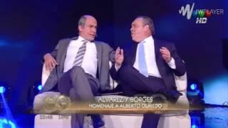 Martin Bossi y Carna homenajearon a Olmedo y Portales en Susana Gimenez