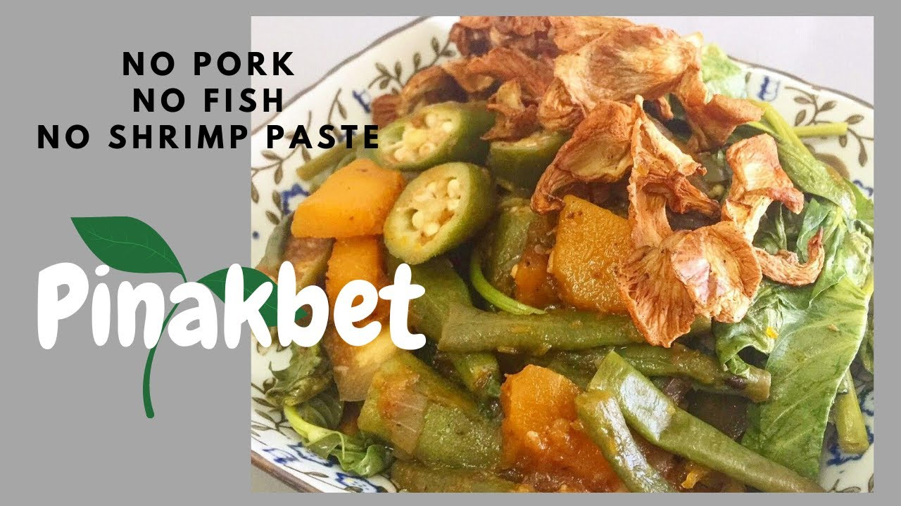 Pinakbet No Bagoong Recipe Youtube