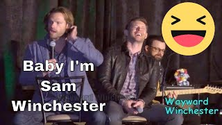 Jared To His Wife 'Baby I'm Sam Winchester' & Jensen LOSES IT! SanFranCon 2017