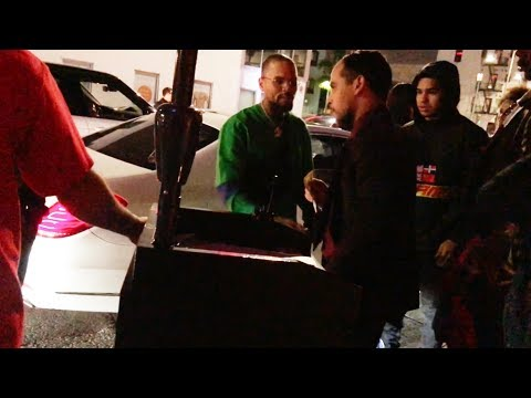 Chris Brown Pissed at Valet for Overcharging - Says