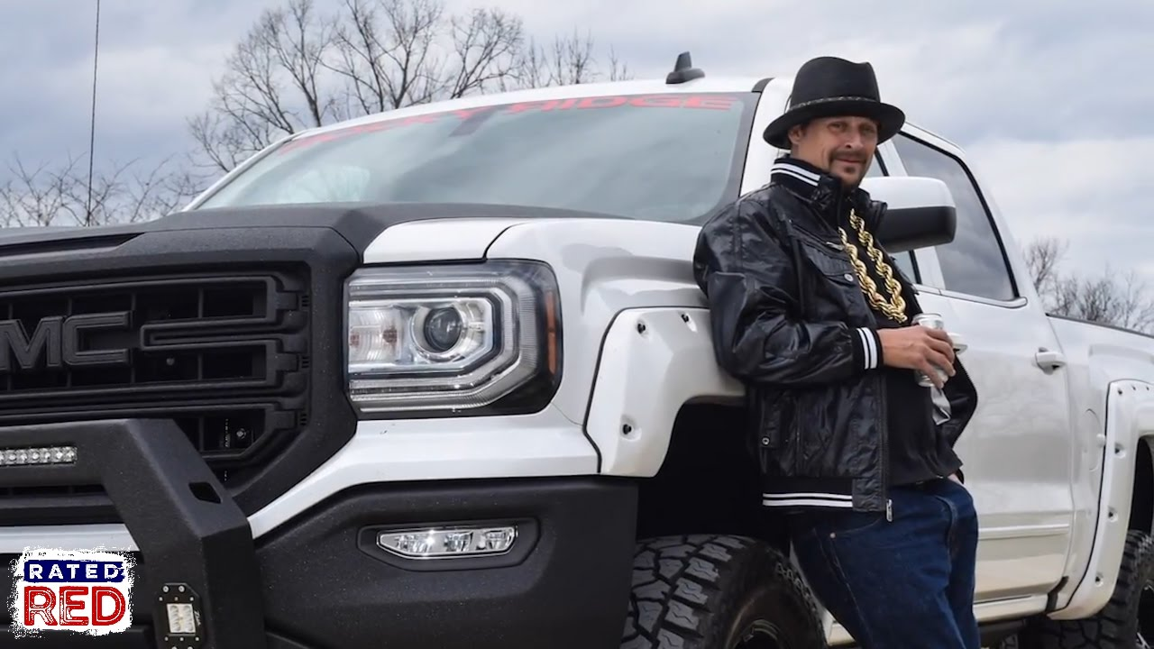 kid rock s tricked out gmc pickup youtube