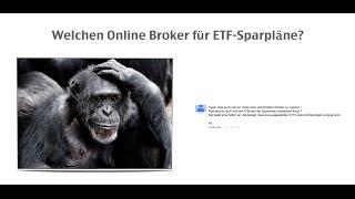 Die 4 Besten Online Broker für ETF Sparpläne