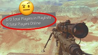 There's actually 0 people playing MW2 in 2019...